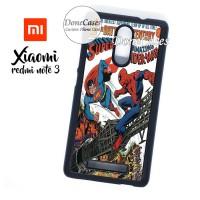 Casing Xiaomi Redmi Note 3 Superman Vs Spiderman Hard Case Custom