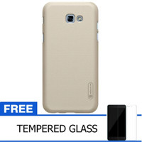 Nillkin Frosted Case Samsung Galaxy A5 2017 -Emas+Free Tempered Glass