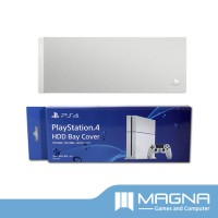 PS4 HDD Bay Cover (Custom Face Plate) - Silver