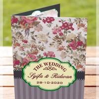 Cetak Cepat Undangan Pernikahan Unik lucu Keren Kreatif Murah V3-100