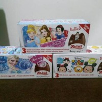 3 box Zaini Chocolate surprise egg