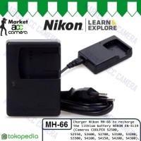 Charger Nikon MH-66 for EN-EL19 (Coolpix S3100/S4100/S5200/S64 Murah