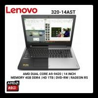 LENOVO IDEAPAD 320 14AST-0RID | A9 9420 | 1TB | R5 GRAPHICS
