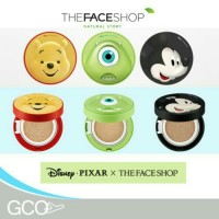 the face shop original disney pixar mike monster inc cc cream cushion