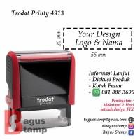 Stempel Warna Otomatis Custom Design Trodat 4913