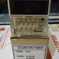 Autonics Counter FX4S (12-24 vdc/vac)