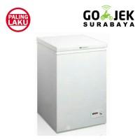 Freezer box pendingin beku midea hs-129 khusus surabaya