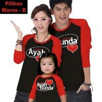baju couple Baju Couple Keluarga Family Kaos Tees Anak Ayah Bunda
