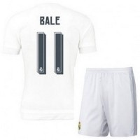 Jersey Sepakbola Real Madrid No 11 Bale Size M White