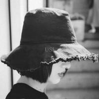 PROMO  Topi Musim Panas Wanita / Pria - Hitam  PALING MURAH