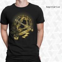 Grosir Kaos Zodiak Sagittarius - Pusat Kaos 3D Bandung