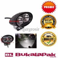 PROMO Lampu LED Cree Sorot 20 w OWL Motor mobil - Putih PALING MURAH