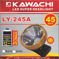 Senter Cas Kepala Super Led Kawachi LY 245A 45w 45 Watt Limited