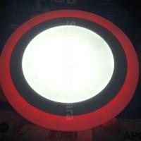 Lampu Led Ceiling Kawachi 2 Warna Cahaya 12w RGB Warna Berkualitas