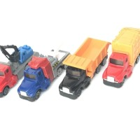 (Dijamin) Set of 4Pcs Truck Construction Toys