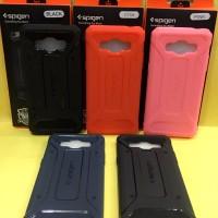 Softcase Spigen Rugged Capsule Carbon Fiber Samsung J500 - J5 J 5