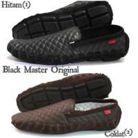 TERLARIS Black master original footwear slop shoes   Sepatu simple