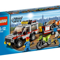 4433 Lego City - Dirt Bike Transporter