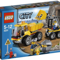 4201 Lego City - Loader and Dump Truck