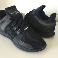 Sepatu Adidas EQT Support ADV Triple Black