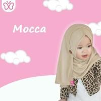 Jilbab Ice cream Jilbab anak pastan anak Mocca Nyaman