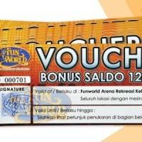 2 Voucher Bermain di Funworld Senilai Rp 120.000
