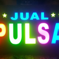 Sign Board Jual Pulsa