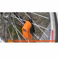 EXCLUSIVE Gembok Pengaman Cakram Motor dan Sepeda dengan Alarm RECOMEN