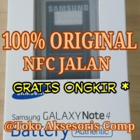 ORIGINAL 100% Baterai Batre Batere Battery Samsung Galaxy Note4 Note 4