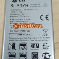 ORIGINAL 100% Baterai Batre Batere Battery LG G3 / G3 Stylus BL-53YH