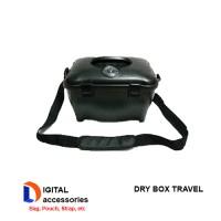 Dry Box Travel - Anti Pecah, warna Hitam Drybox