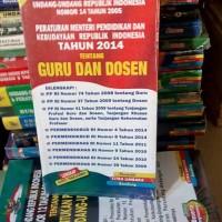 Buku UU RI.NO.14 THN 2014 TENTANG GURU DAN DOSEN