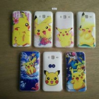 TPU Soft Case Pokemon - Samsung Galaxy J3 (J300)
