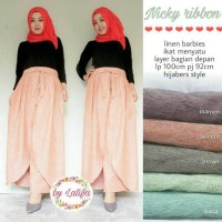 Harga nicky ribbon hijabers style by | Hargalu.com