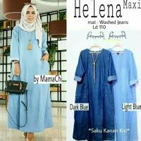 helena maxi (dark blue,light blue)