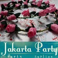 Pink Soft Flowers Crown / Mahkota Bunga / Crown Flower / Mahkota Pesta