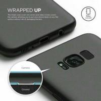 Case Slim Fit Vivo V7 Plus/New Matte Black/Full Body Soft
