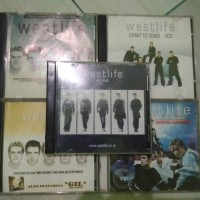 VCD westlife collection ( 5 Album)