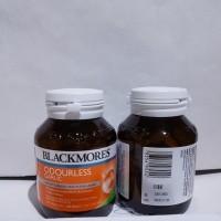 Jual blackmores odourless garlic 200 tabs puritan suplemen bawang putih Murah