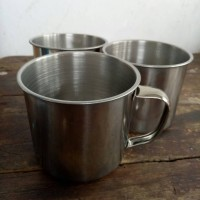Jual Cangkir stainless stell untuk thai tea/kopi Murah