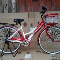 harga Sepeda City Bike Phoenix Merah Tokopedia.com