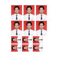 Harga cetak foto pas photo ukuran 3x4 6 lembar dan 2x3 6 lembar | Pembandingharga.com