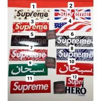 Supreme Box Logo Sticker Perfect Replica 1:1