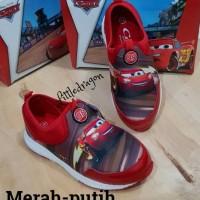 harga Sepatu Cars Slip On #sepatu Anak Laki #sepatu Sekolah Anak Tokopedia.com