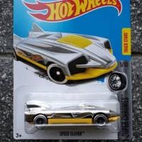 hotwheels speed slayer chrome diecast