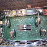 Drum Snare Kyre Nyx ash 14x5,5 Turquois sparkle