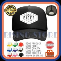 TOPI PRIA TRUCKER EIGER AUTHENTIC BASEBALL SNAPBACK - Dipilihaja-shop