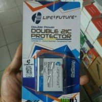 BATERAI BATRE LIFE FUTURE DOBEL POWER / IC SAMSUNG G130 YOUNG 2 DUOS