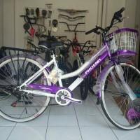 harga Sepeda City Bike Phoenix Ungu Tokopedia.com