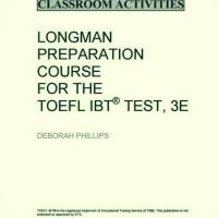 harga Buku Longman Preparation Course For Toefl Ibt: Classroom Activities Tokopedia.com